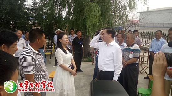 辽宁省委书记为党员上党课
